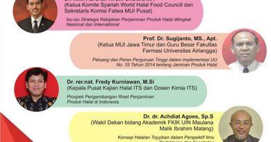 Undangan Seminar Halal & Soft Launching Unit Kajian Halal