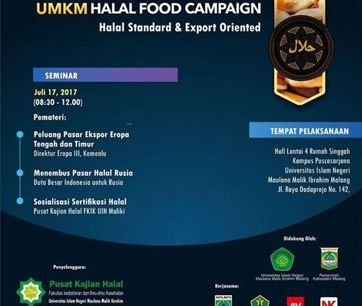 Materi Seminar UMKM Halal Food Campaign