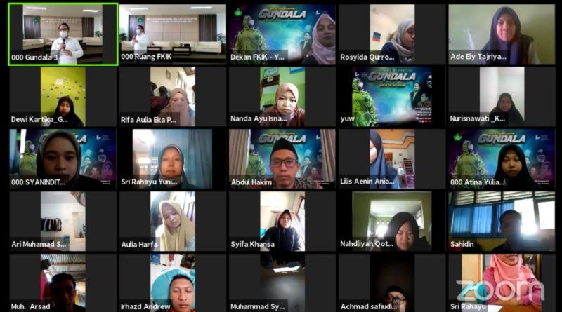 FKIK UIN Malang Sukses Gelar Open House Virtual
