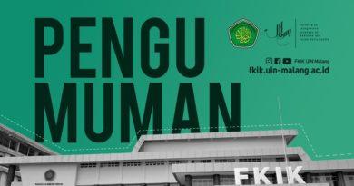 Hasil Seleksi Beasiswa Calon Dosen FKIK UIN Malang