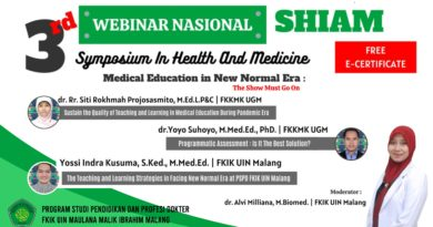 3rd Symposium In Health And Medicine Medical Education in New Normal Era