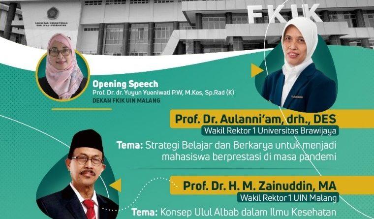 Bangkitkan Motivasi Mahasiswa, FKIK Gelar Kuliah Perdana Bersama