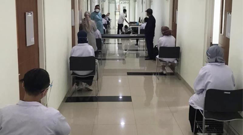Melangkah Maju, Prodi Kedokteran Kembali Gelar Ujian OSCE Luring